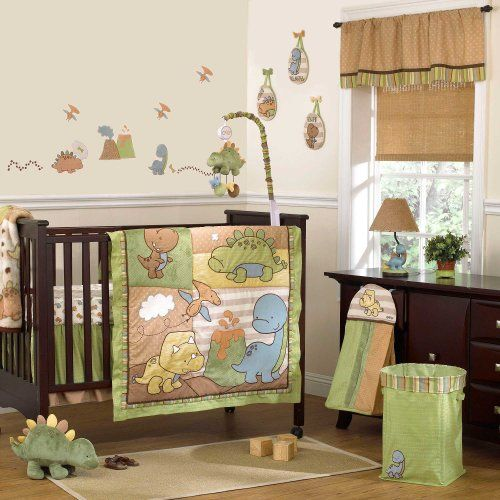 Dinomite 8 Piece Baby Crib Bedding Set By Cocalo Dinosaur Baby