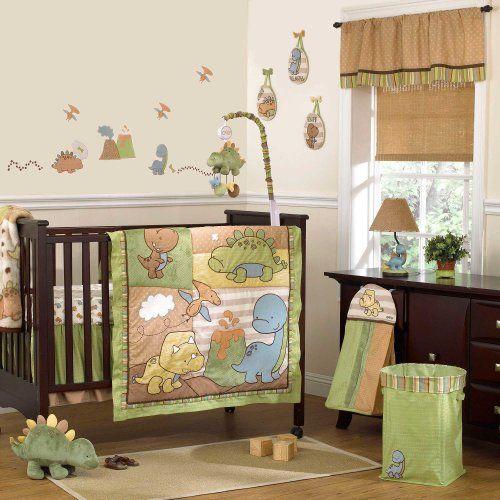 Dinomite 8 Piece Baby Crib Bedding Set By Cocalo Dinosaur Baby
