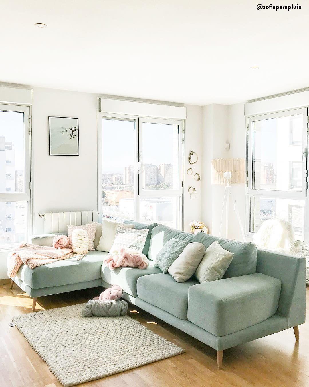 Come Abbellire Un Divano colori pastello 💚 il verde menta è uno dei colori più in