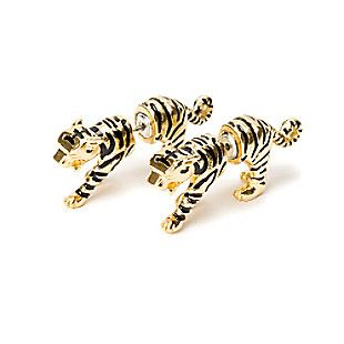 Katy Perry Tiger Front and Back Earrings