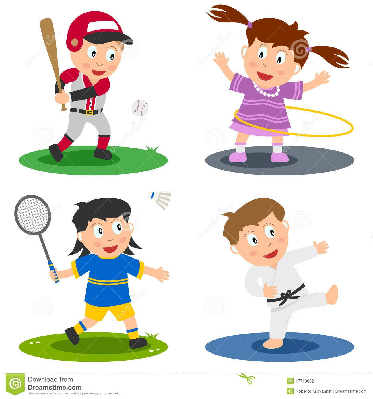 sport kids collection 2 stock photography image 17710832 - Sports Images For Kids