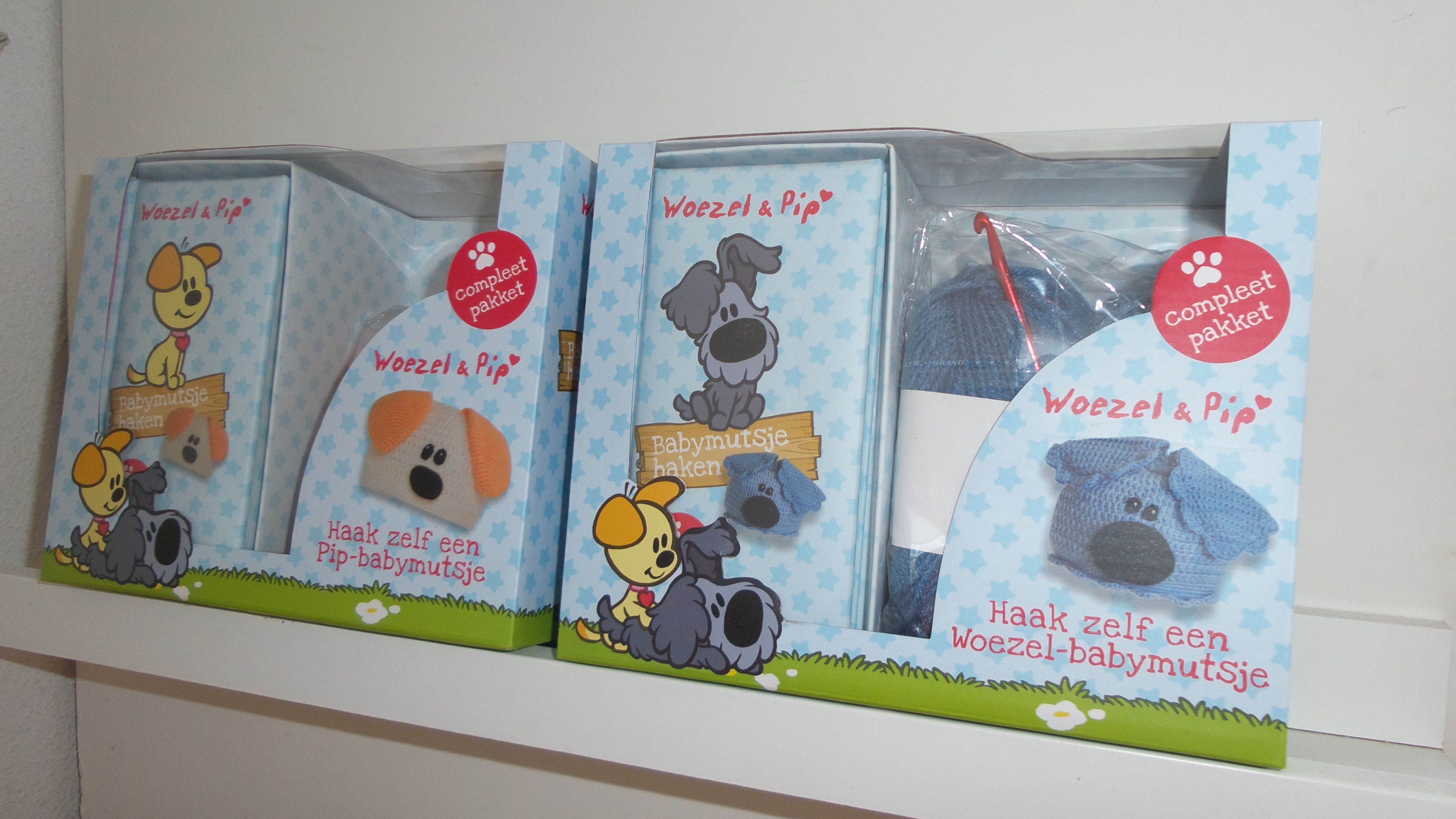 Woezel En Pip Mutsje Haken Diy Pakket Woolytoons Amigurumi Designs