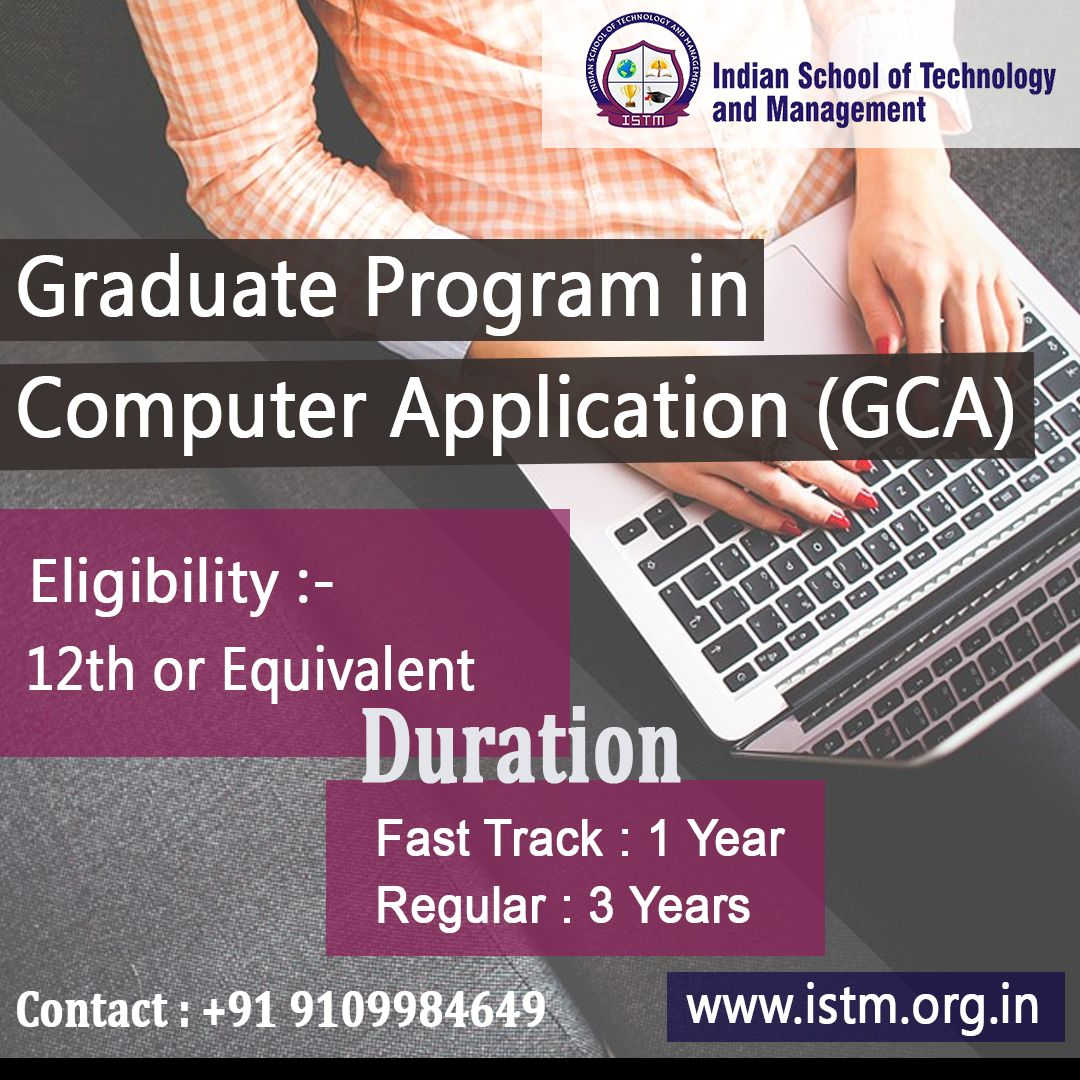 Be Expert in Computer Application! Complete Your