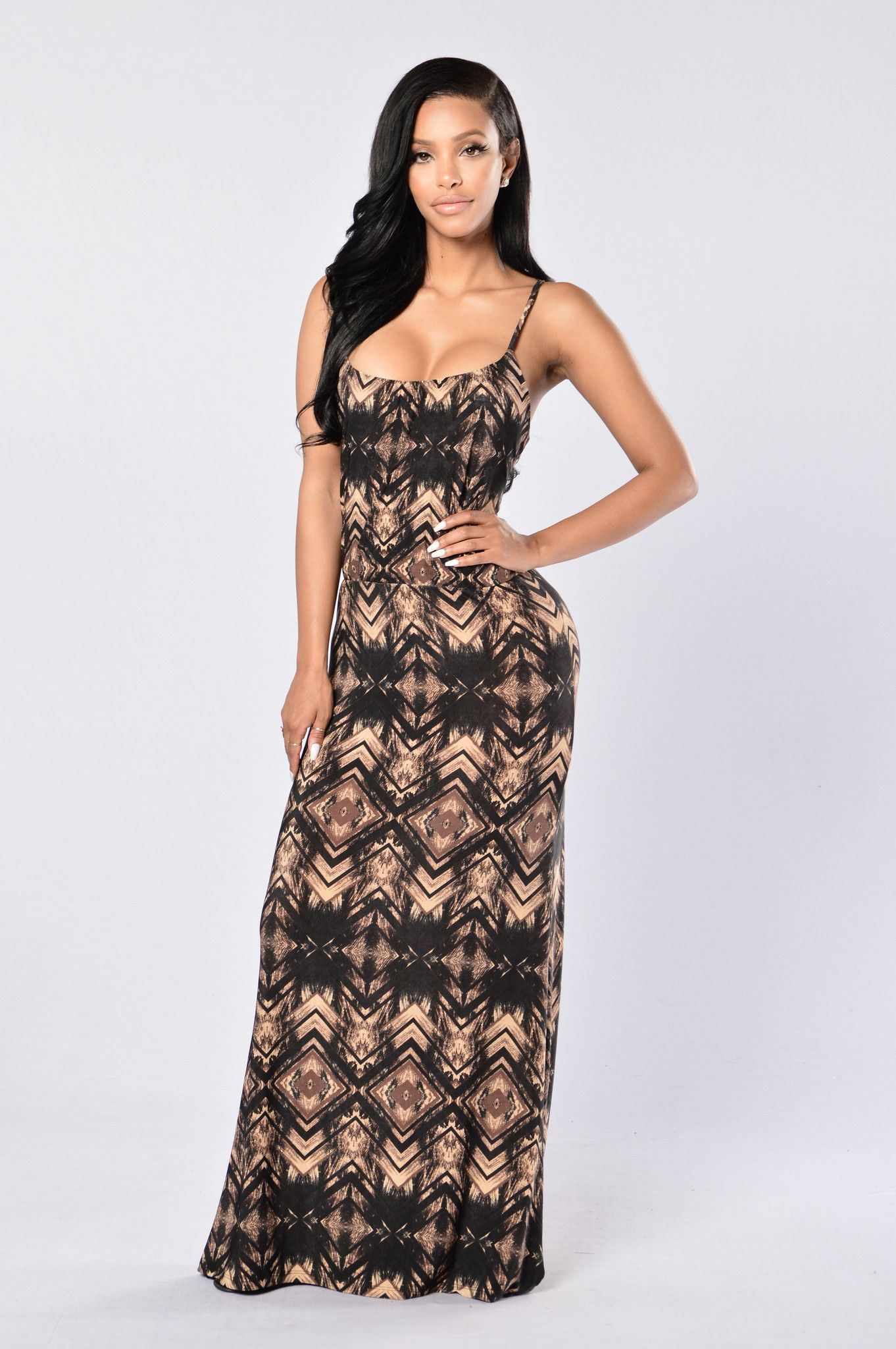 Anaconda Dress - Chocolate