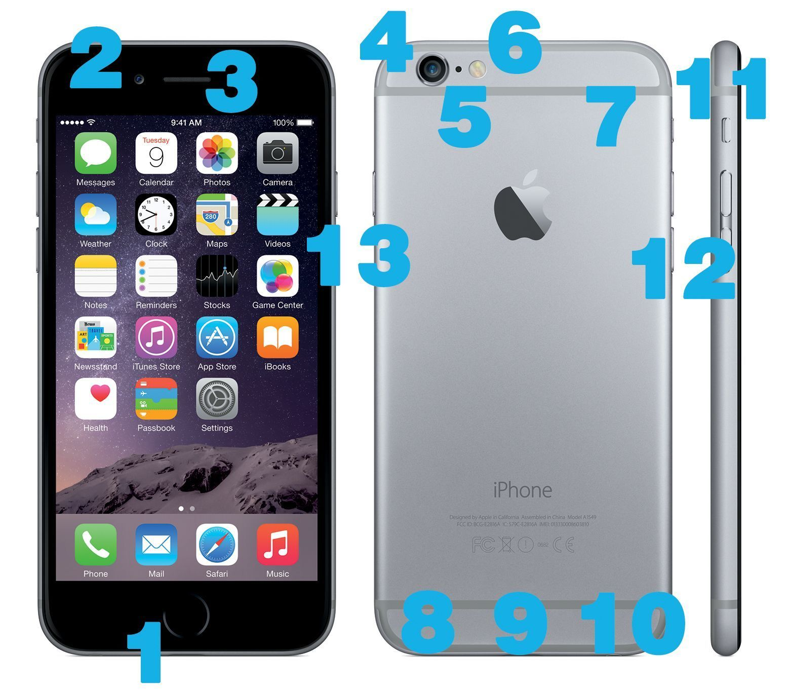 What Do the Buttons on the iPhone 6 Series Do? iPhone