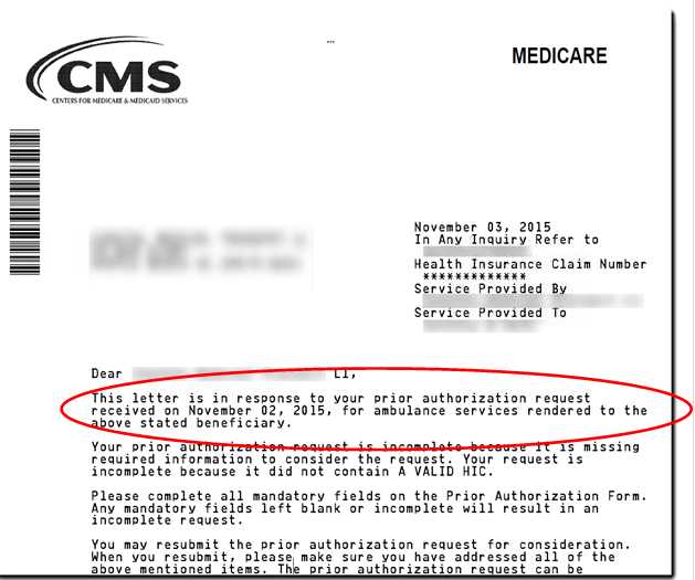 Palmetto Gba Part Prior Authorization Repetitive Scheduled Gif Cms