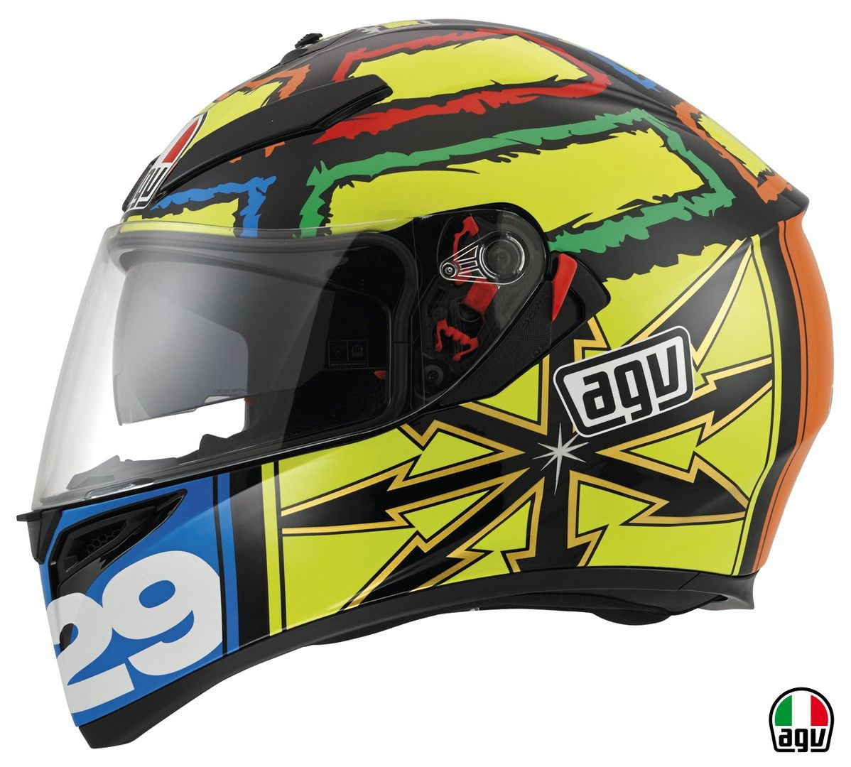 Agv K 3 Sv Iannone Helmet Design Helmet Motorcycle Helmets