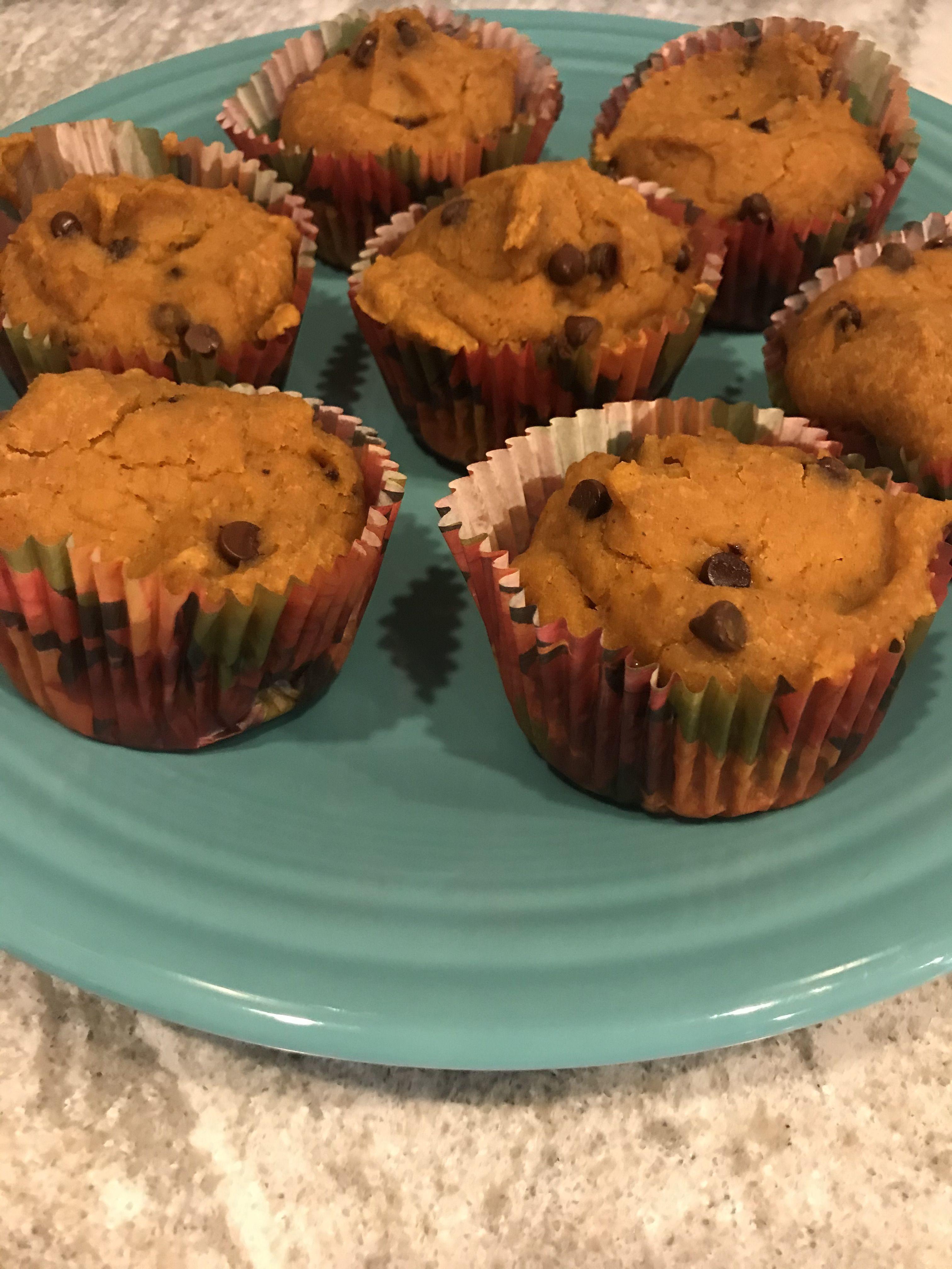 Gluten free pumpkin spice muffins or cupcakes recipe