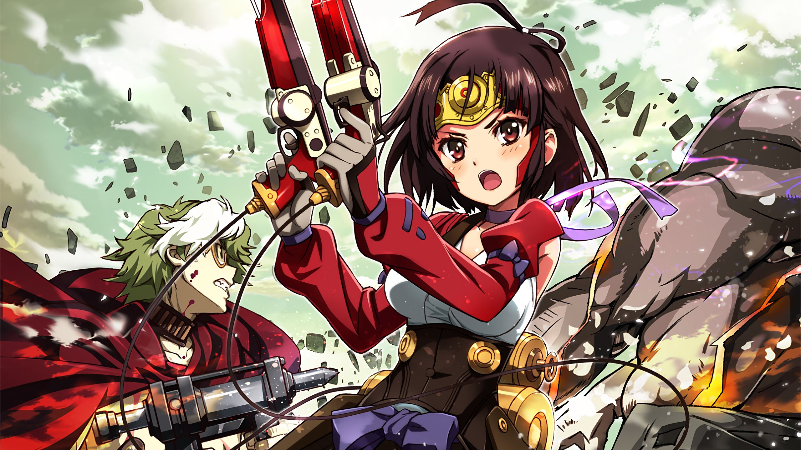 Kabaneri Of The Iron Fortress Wallpaper: Anime Kabaneri Of The Iron Fortress Wallpaper
