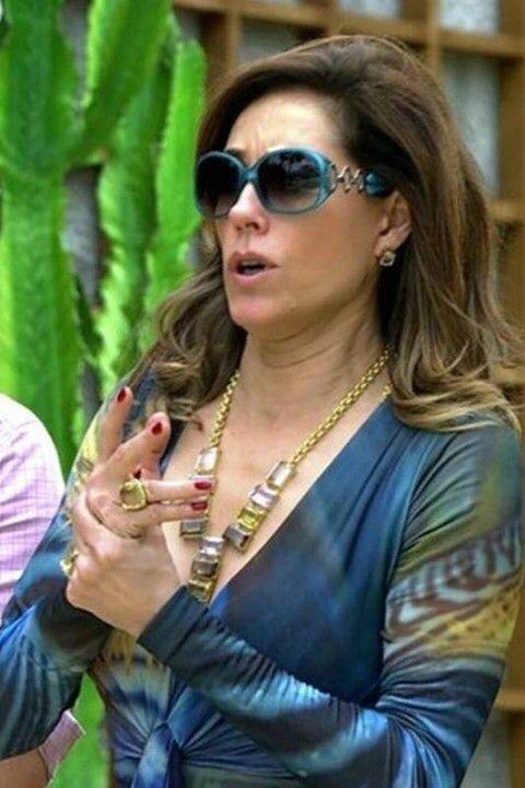 Tereza Cristina com Emilio Pucci   Óculos em Figurinos   Pucci e ... 3c395e9155