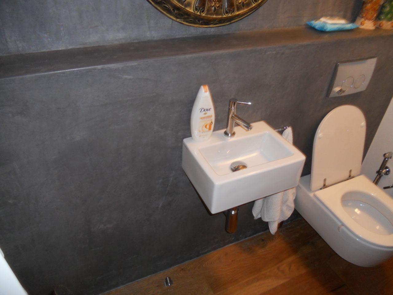 Tadelakt bathroom made by amel kadic -  Tadelakt
