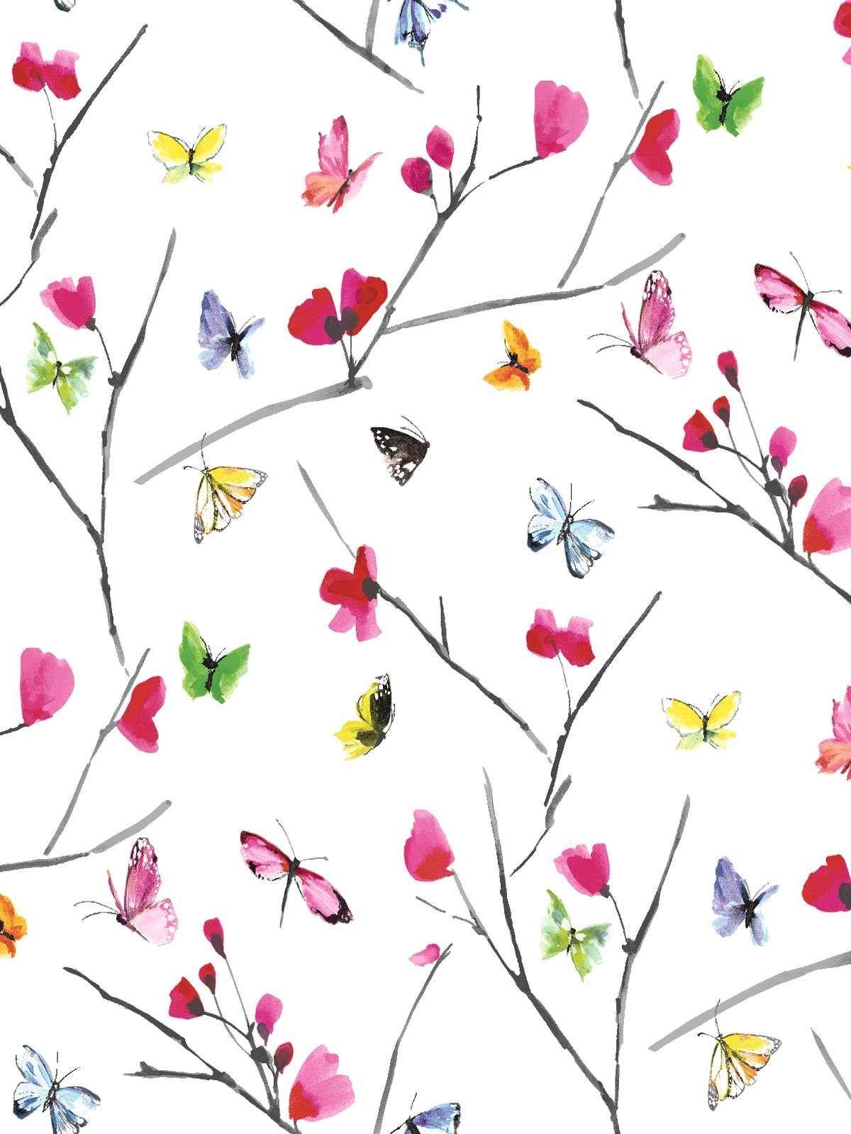 Mazarine Butterflies Wallpaper Wallpaper Pinterest Butterfly