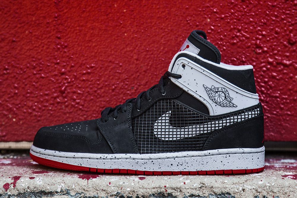 """the sale of shoes sale no sale tax Air Jordan 1 Retro 89 """"Black & Fire Red†(Detailed Pictures ..."""