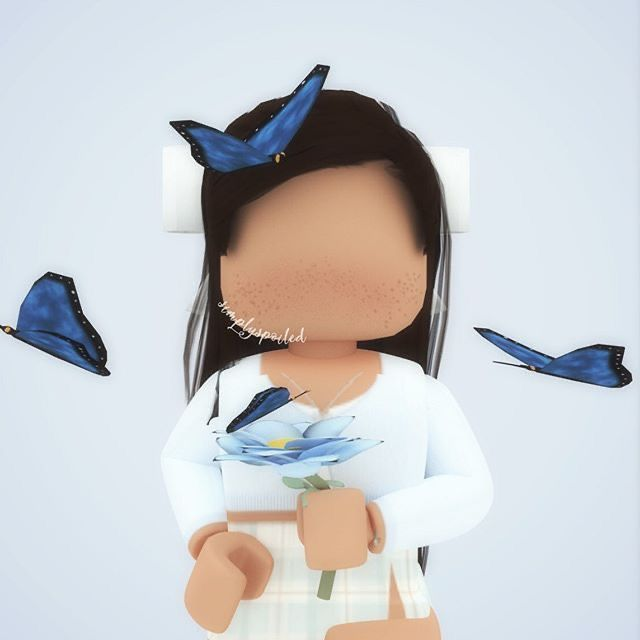 Nice Cute Butter Fly Gurl In 2020 Roblox Cute Profile Pictures Roblox Animation