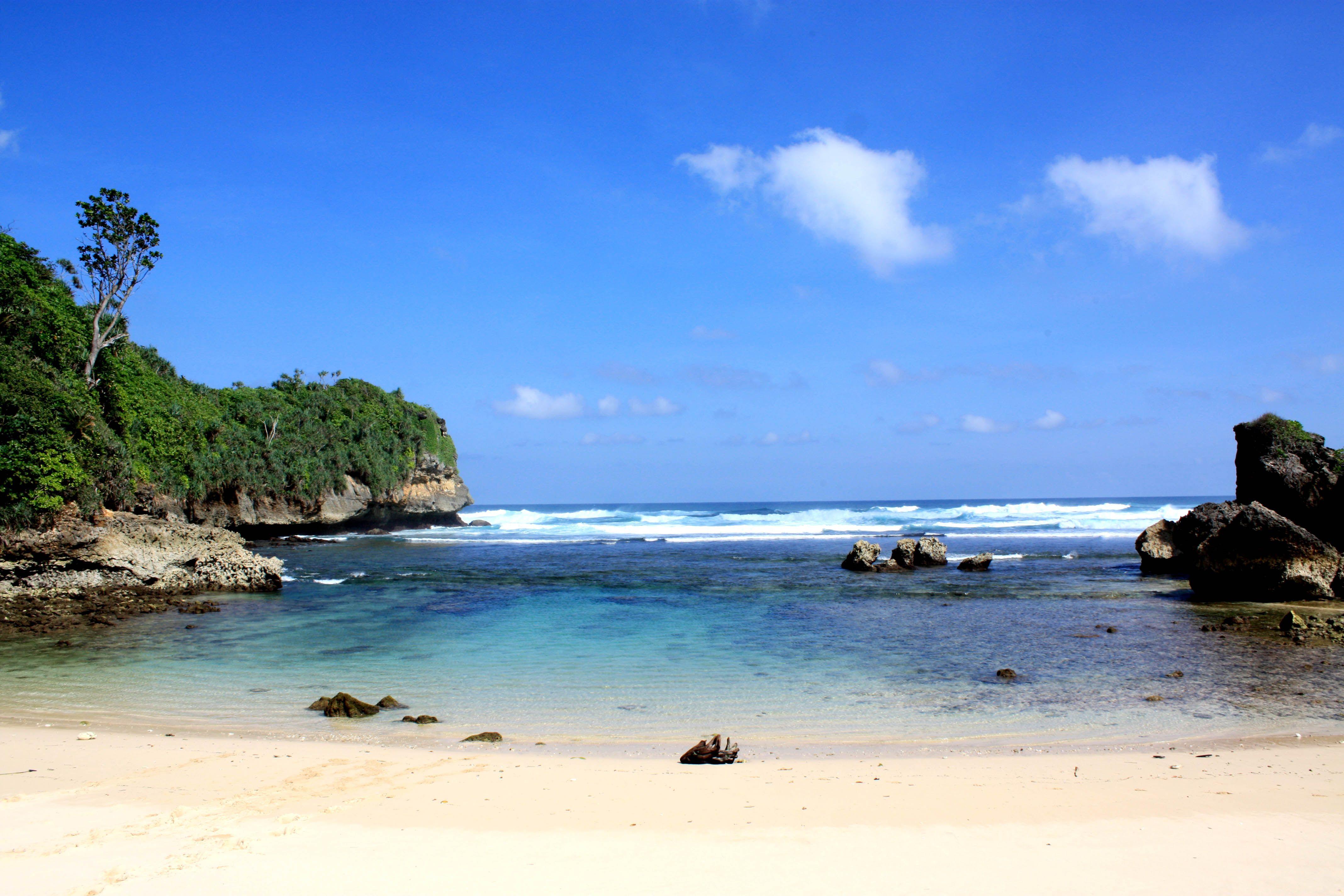 Goa Cina Beach, Malang-Indonesia