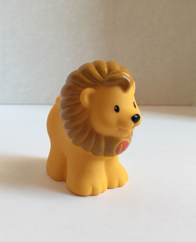 Fisher Price Little People Alphabet Learning Zoo Lion Replacement L ...