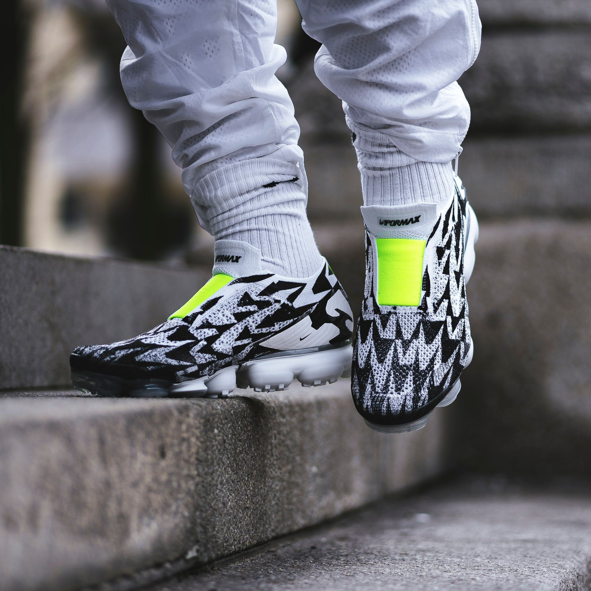 separation shoes af864 46d23 ACRONYM x Nike Air VaporMax Moc 2 Black White  AQ0996-001  The Sole  Supplier