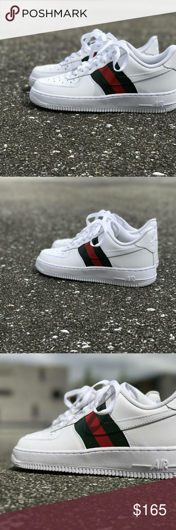 95672ecf296e Gucci x nike air force one custom brand new Gucci x nike air force one custom  brand new with box multiple sizes avalible Jordan Shoes Sneakers