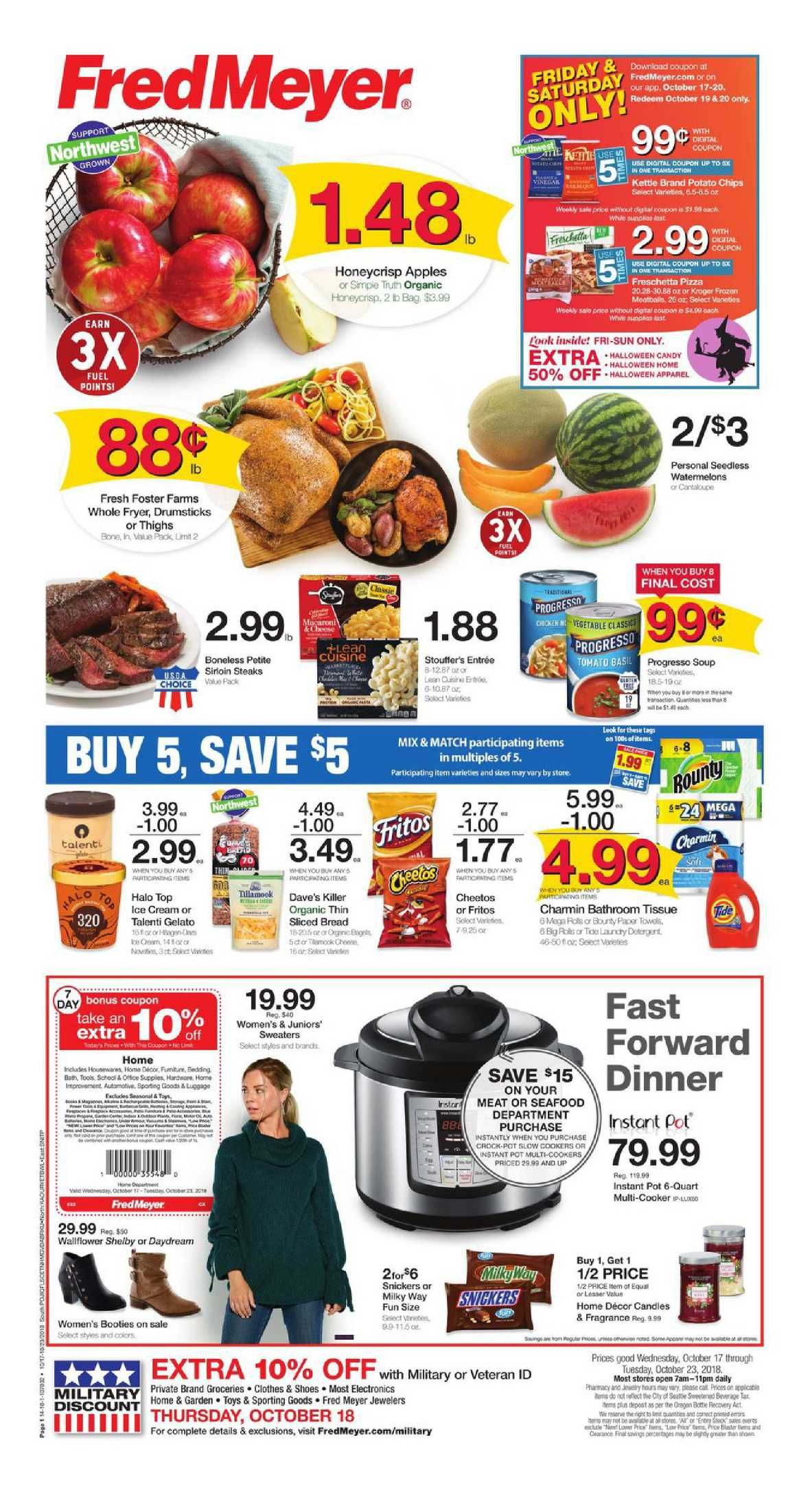 Frys Food Weekly Ad Flyer December 19 24 2018 Weekly Ad