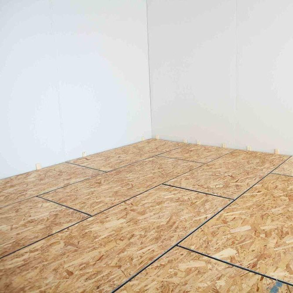 OSB-plate for a floor: technical characteristics, the sizes, features of laying 15