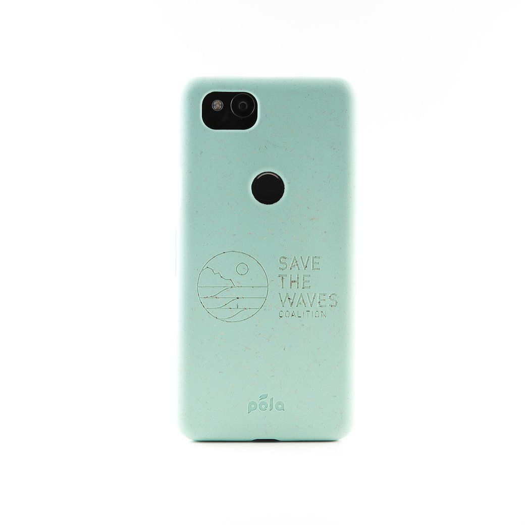buy online a5ce6 deabe Save The Waves - Ocean Turquoise Google Pixel 2 Eco-Friendly Phone ...