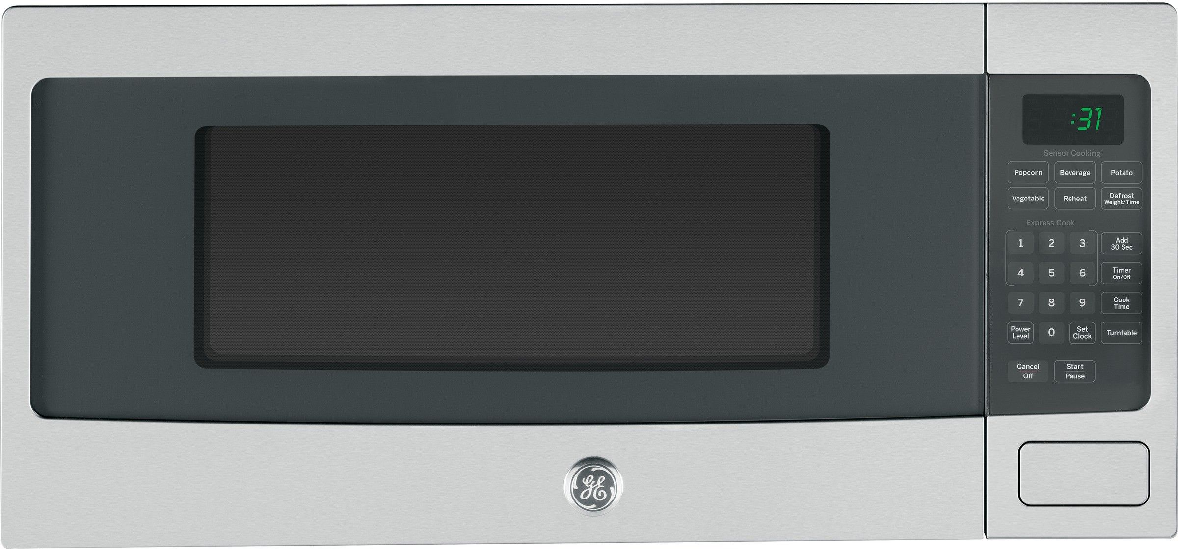 Ge Profile Pem31sfss Countertop Microwave Oven Stainless Steel