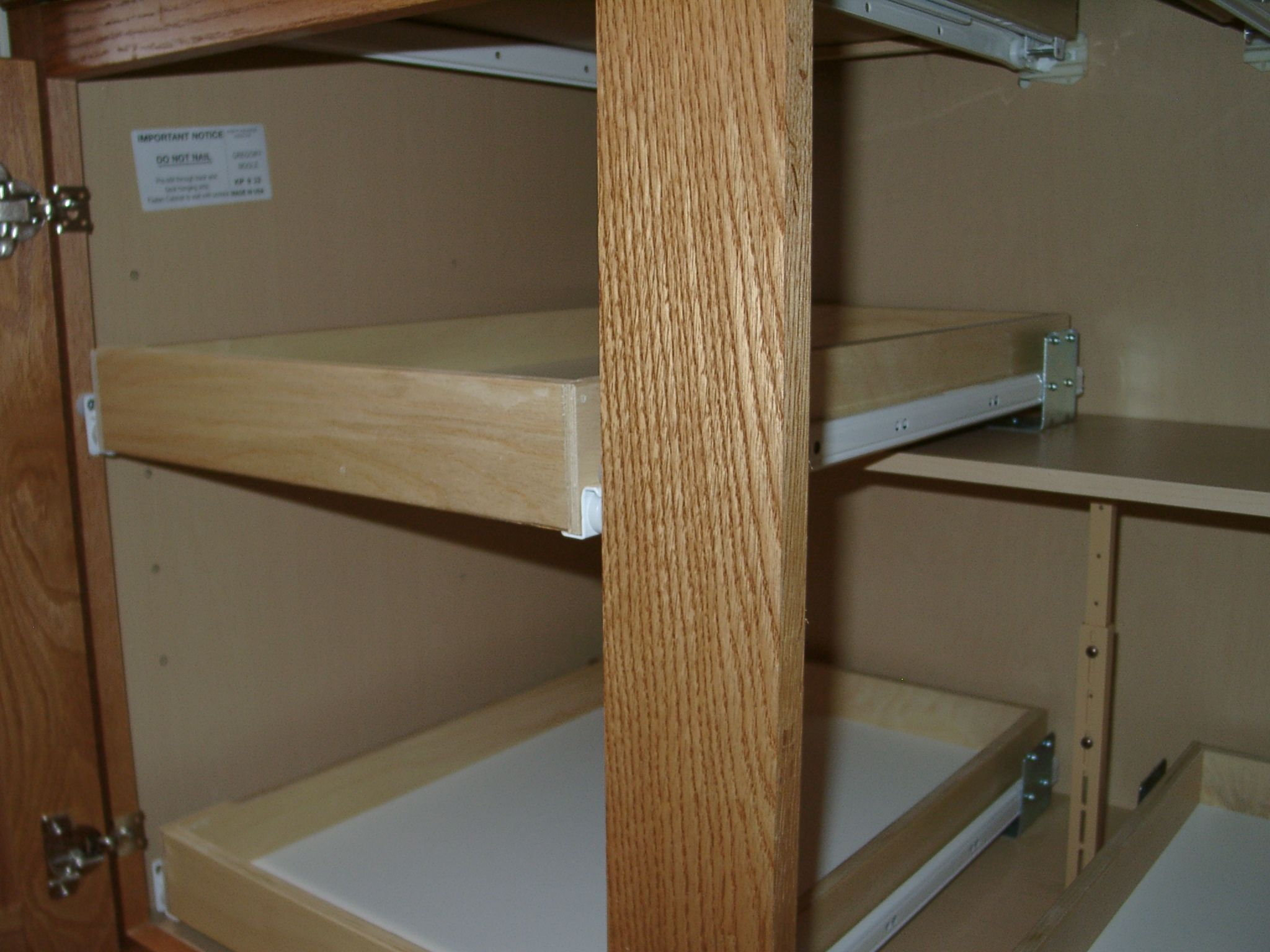 Custom Pull Out Shelving Soultions Diy Do It Yourself