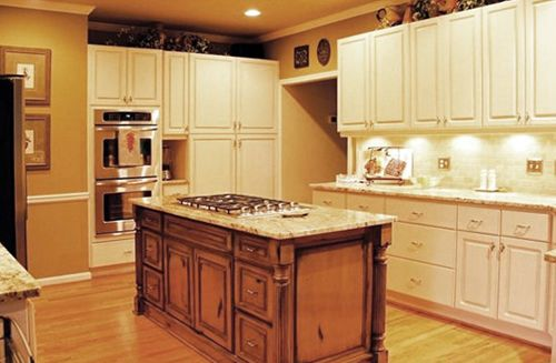 Kitchen Cabinets   BrushStrokes by Mary Anne   Chalk Paint ...