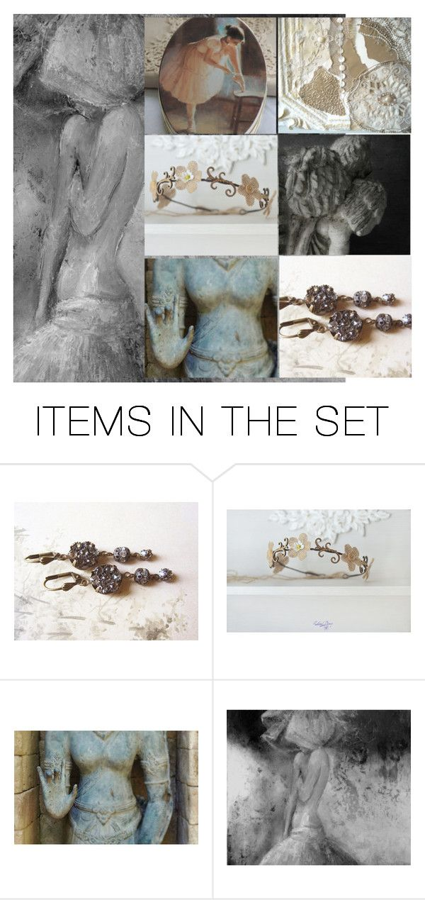 """Silhouette"" by julie-sumerta on Polyvore featuring art and vintage"