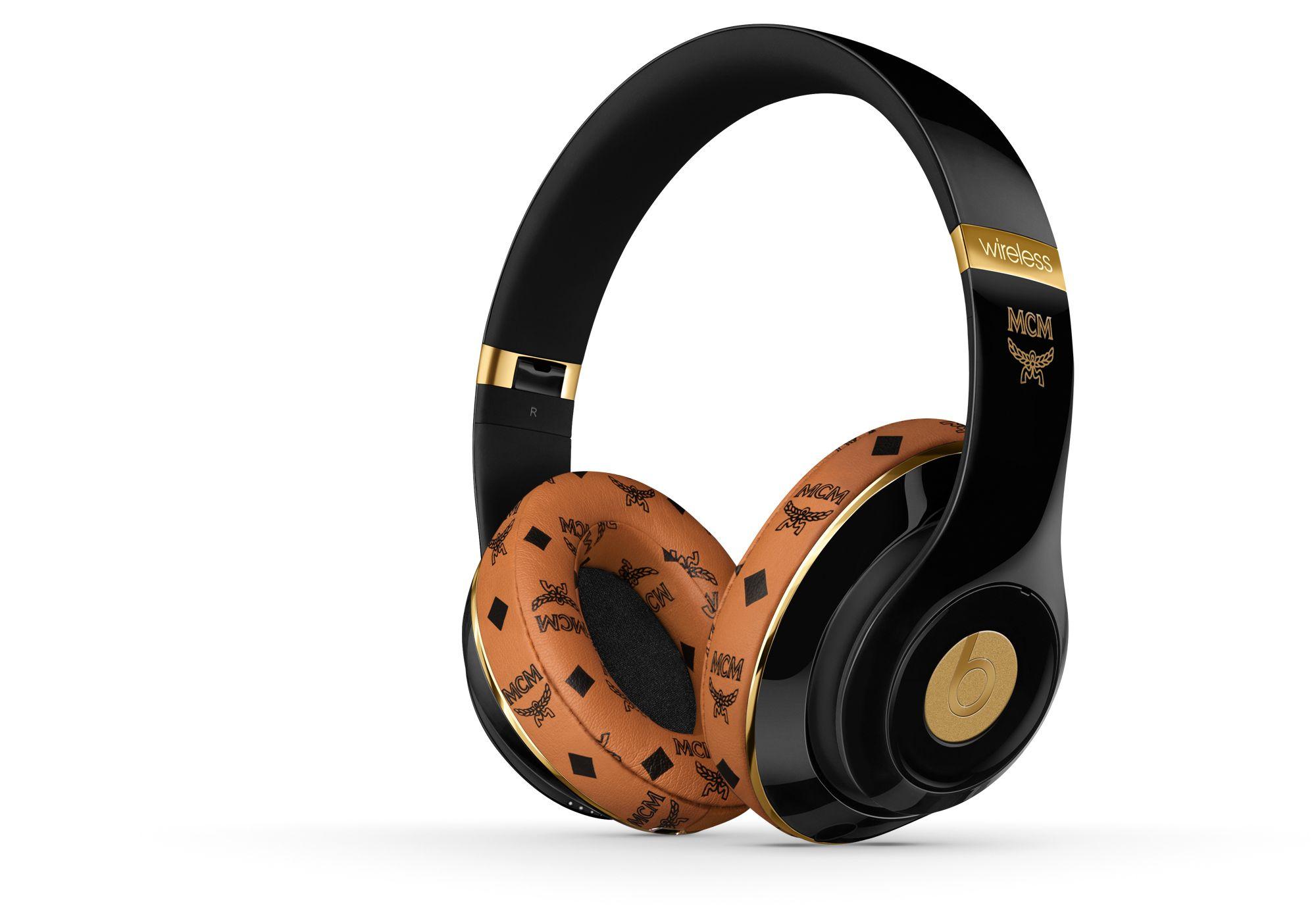 beats x mcm studio wireless beats headphones pinterest studios headphones and beats. Black Bedroom Furniture Sets. Home Design Ideas