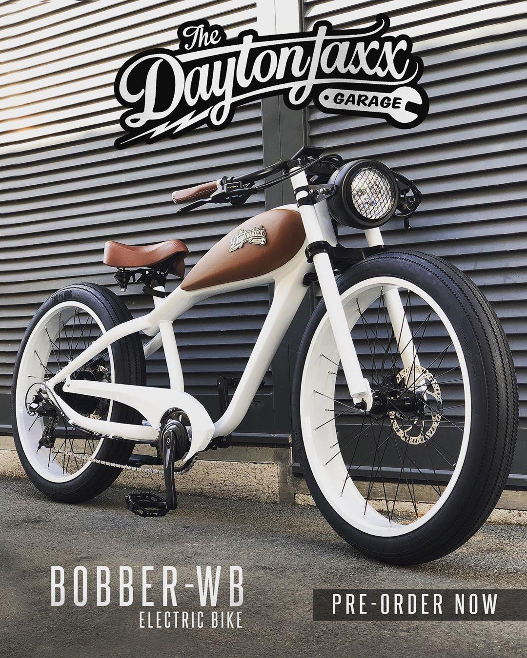 Bobber Wb New Model Electric Bike Pre Ordre Now Www Daytonjaxx