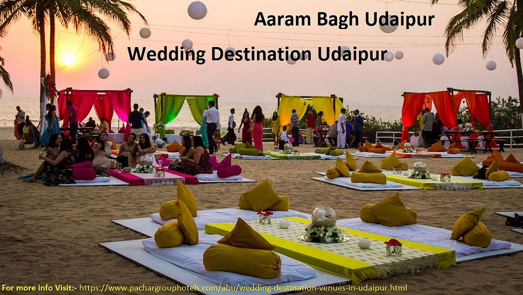 Wedding destination in Jaipur Indian beach wedding