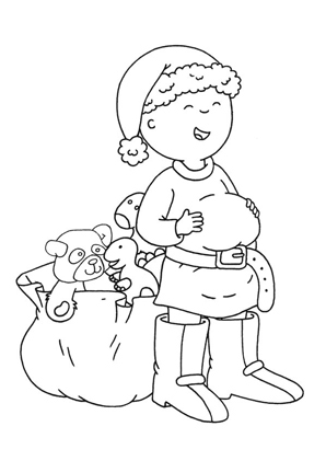 Caillou Ausmalbilder Coloring Pages Christmas Coloring Books Emoji Coloring Pages