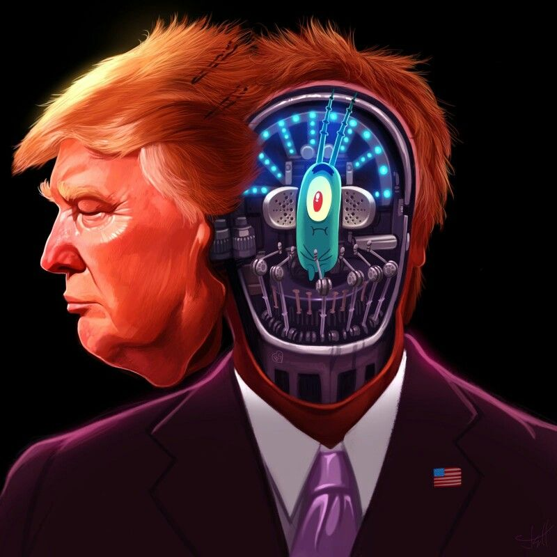 Donald Trump Plankton By Jeff Delgado This Would Explain - Trump draws tweets gifs of donald trump showing off his doodles and its totally hilarious