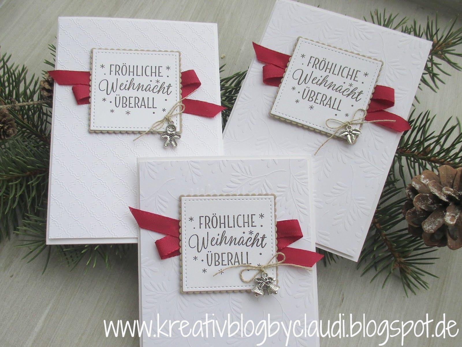 Diese woche sind noch jede menge weihnachtskarten entstanden unter anderem habe ich das tolle - Weihnachtskarten schreiben ideen ...