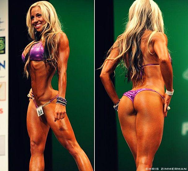 Bikini female fitness model