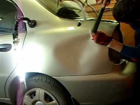 diy automotive dent repair