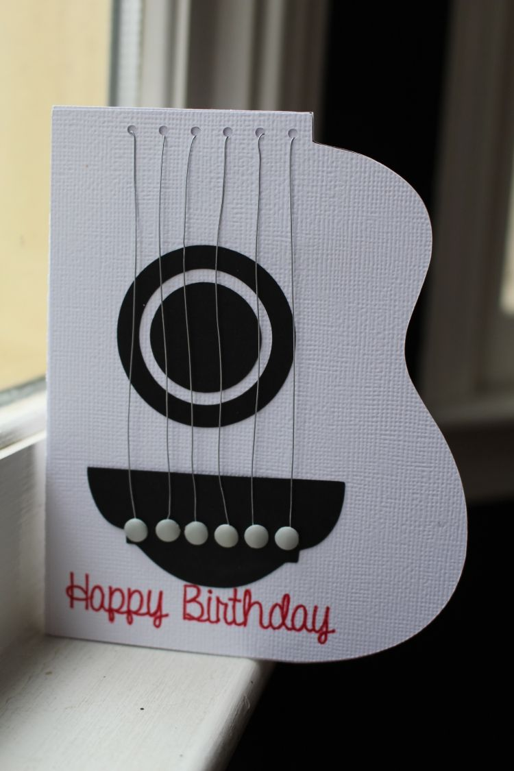 Handmade Card Craftysherry Diy Birthday Card For Boyfriend Cards Handmade Birthday Cards For Boyfriend