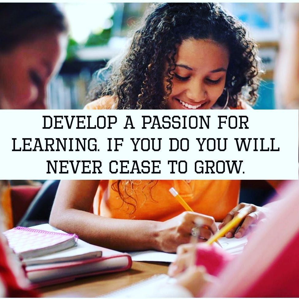 Be passionate don't procrastinate just do it headway