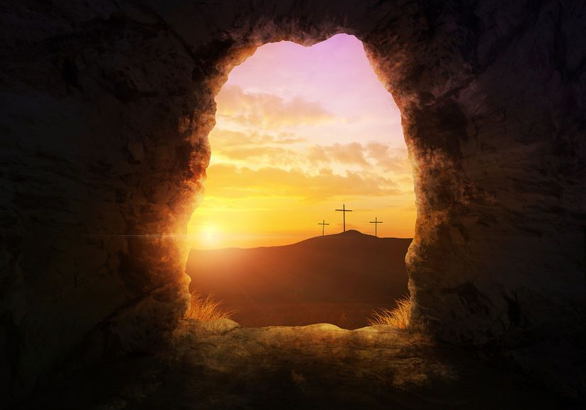Happy Resurrection Day! He's Alive | Resurrection day, Jesus, Christ