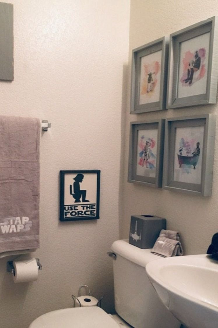 Spa Wars Bathroom Wall Art Print Set Pick 4 Etsy In 2020 Star Wars Bathroom Decor Star Wars Bathroom Star Wars Wall Art