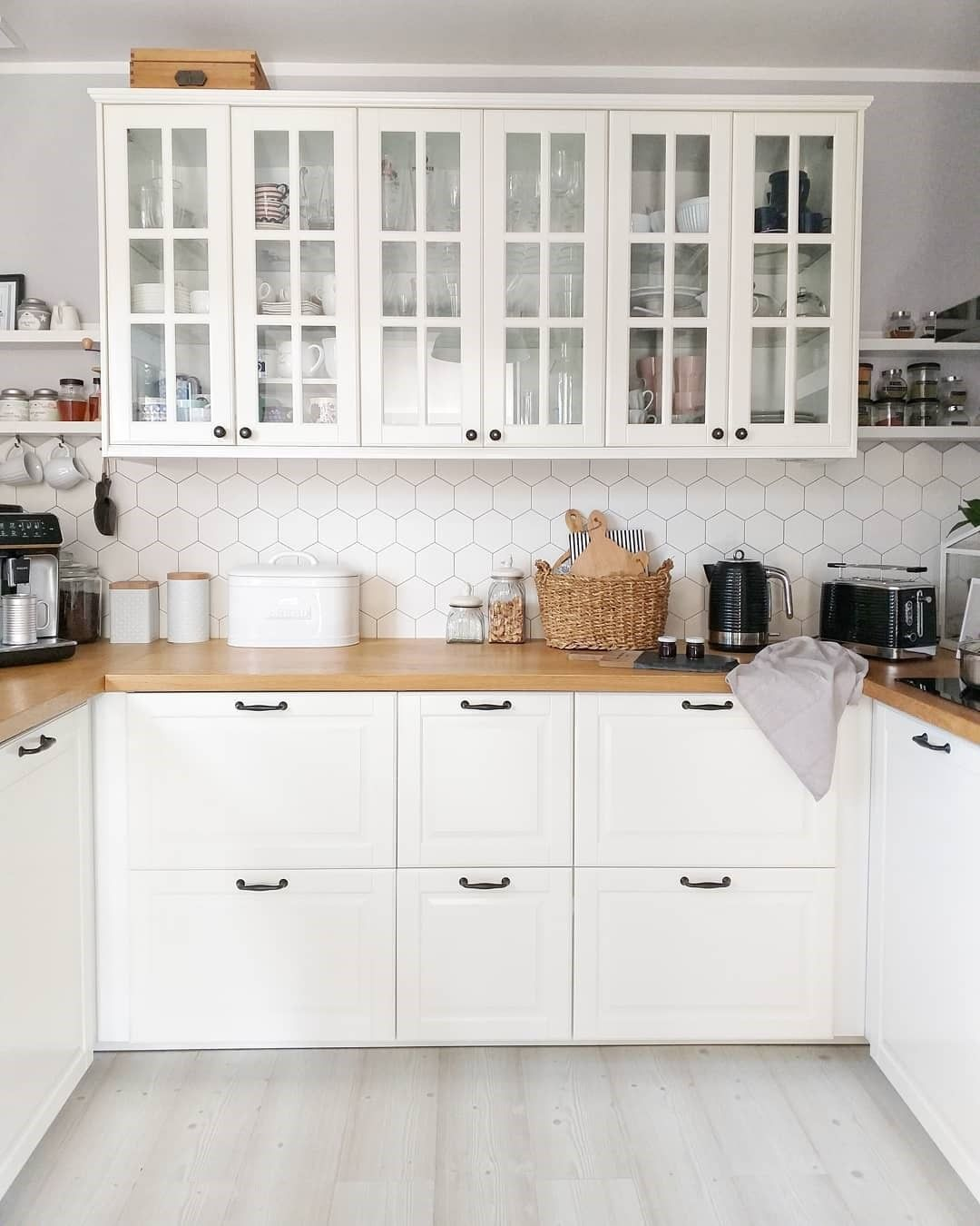 2 760 Likes 30 Comments Ikea Australia Ikea Australia On Instagram The Lacquered Bodbyn Fronts With Their Distin Kitchen Decor Ikea Kitchen New Kitchen