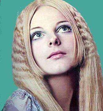 Resultado de imagen para maquillaje años 70