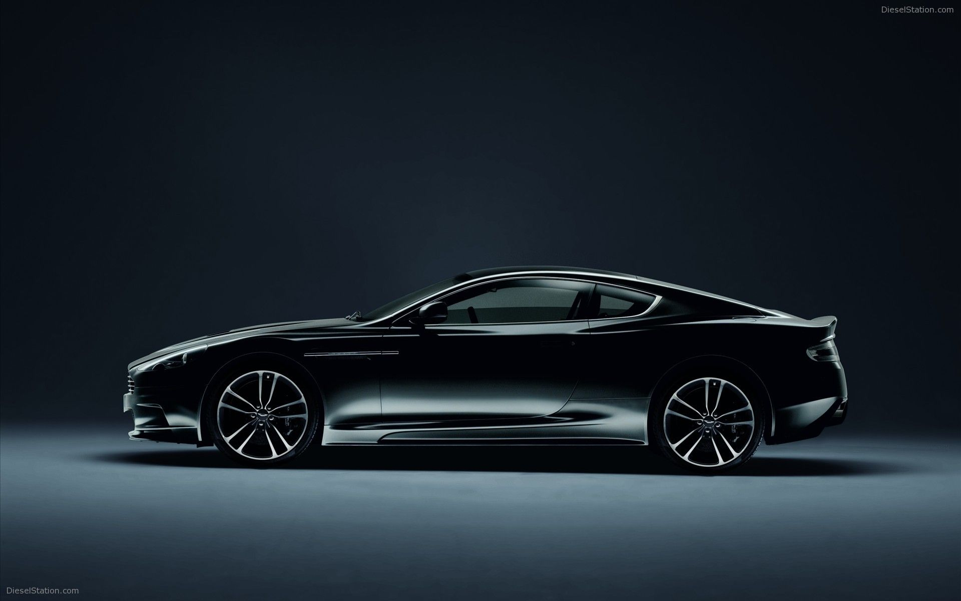 Aston Martin Carbon Black Special Editions Widescreen Exotic Car Pictures #06 of 12 : Diesel Station