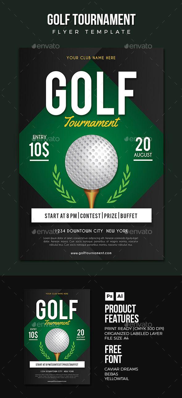 Golf Flyer Golf Flyer Template And Template