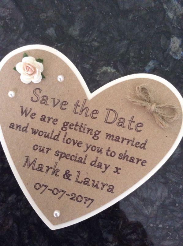 Save Date Cards Uk Ebay
