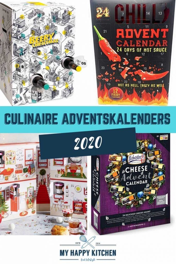 Culinaire adventskalenders 2018 My happy kitchen & lifestyle