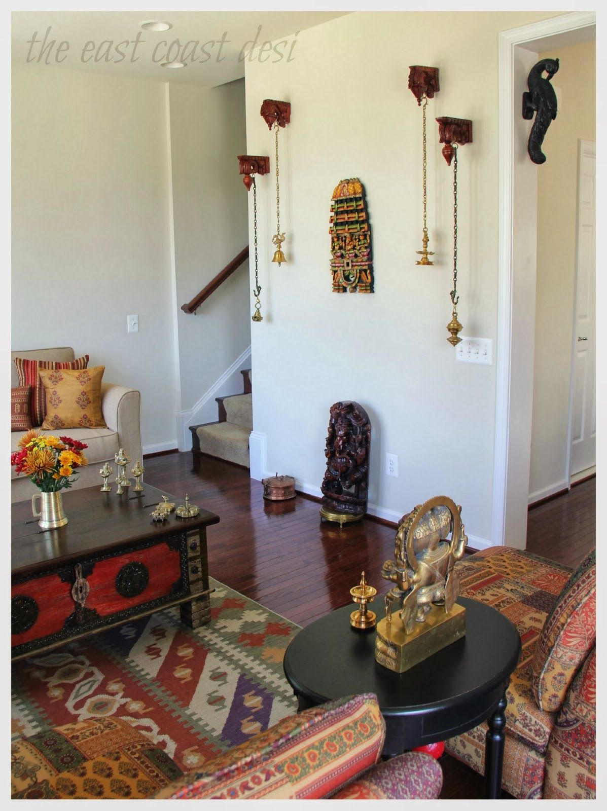 My Dream Canvas Sruthi S Eclectic Home In Virginia