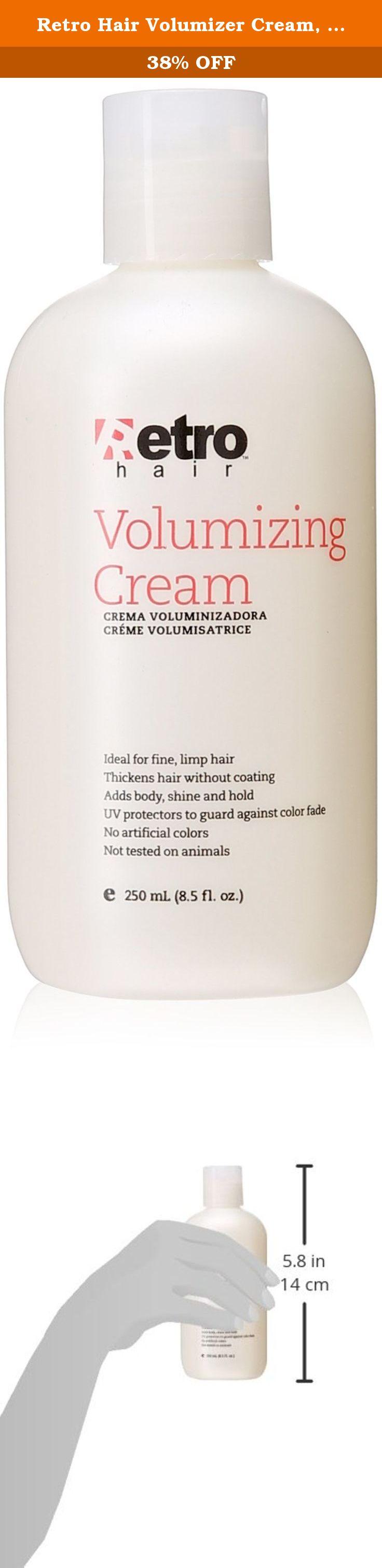 Retro Hair Volumizer Cream 8 Fluid Ounce This Retro Hair Volumizer