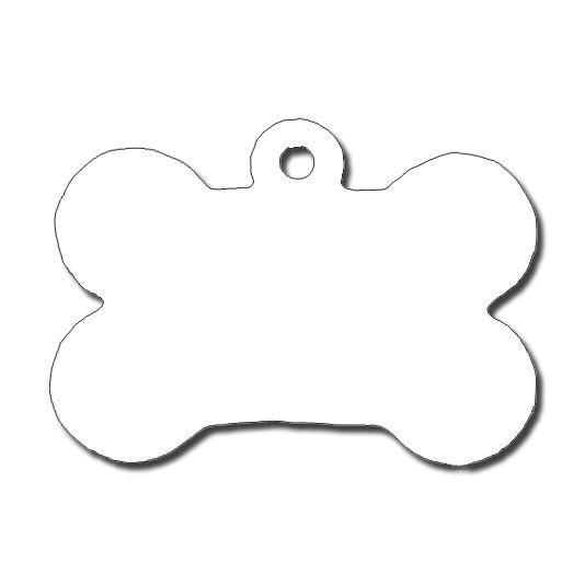 Dog Bone Tag Clipart 1